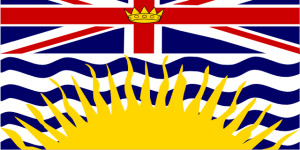 Canada British Columbia Flag