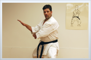 Instructor Chris Ripco 5th Dan